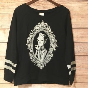 🍂Marilyn Monroe Sweatshirt Plus Size 2X